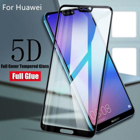 Цялостен 5D стъклен проктектор за Huawei Mate 20 Lite Мейт 20 Лайт