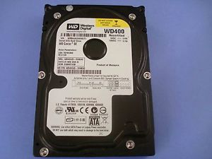 hard disc western digital pc 40gb