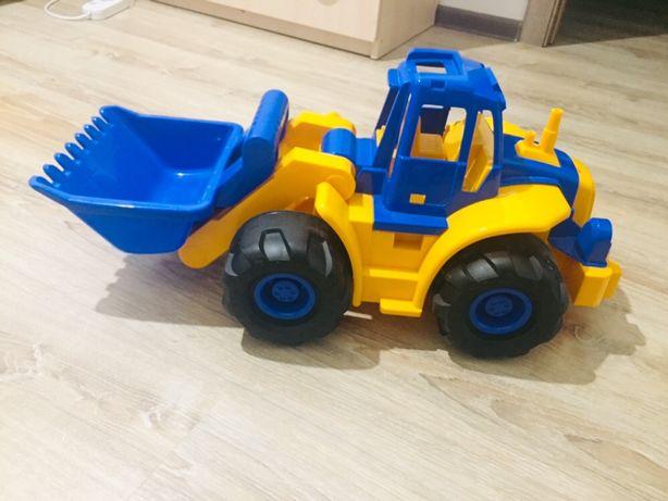 Продается игрушка синий трактор