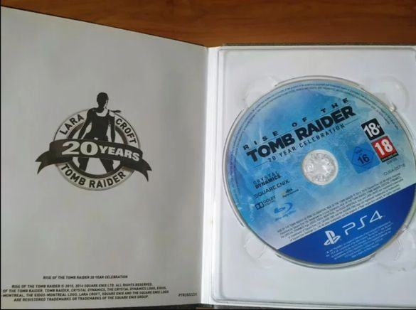Rise of the Tomb Raider 20th year edition Artbook Playstation 4 ps4