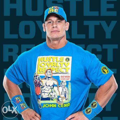 WWE! Уникална КЕЧ тениска JOHN CENA / СИНА RESPRECT! Или с ТВОЯ идея!