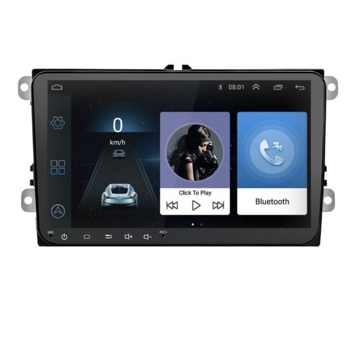Navigatie GPS Android de 9 VW Golf 5, 6 Passat B6 B7 CC EOS Tiguan POl Bucuresti - imagine 1