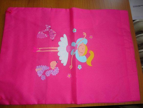 детска розова раничка