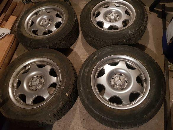 Джанти с гуми 16' за Мерцедес w211