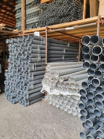 Трубы канализационные ПВХ и ППР (Оптом) 50, 100, 110, цена пластиковые
