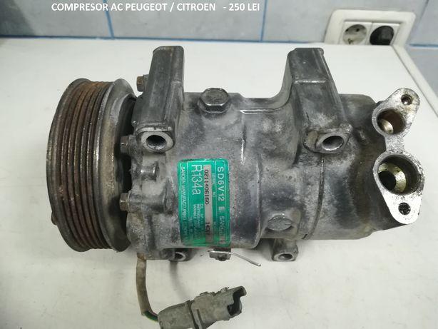 compresor AC sanden sd6v12 peugeot / citroen