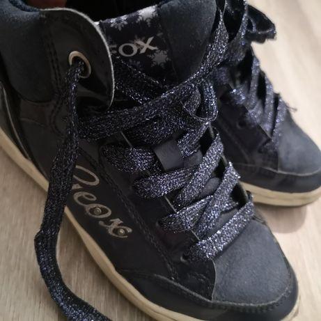 Pantofi/ghete Geox, pentru fete, 18 cm, marimea 30