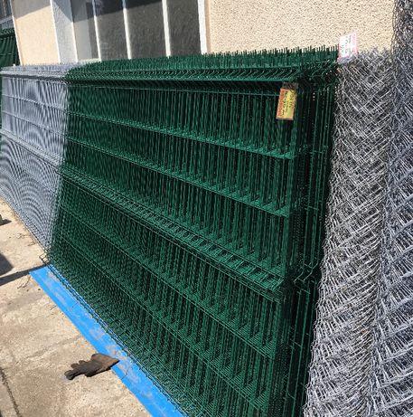 Оградни пана, оградна мрежа, оградни колове