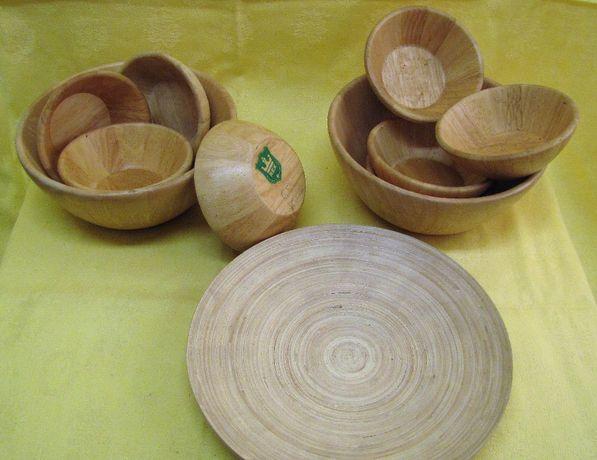 Veselă bambus începând de la 44 ron