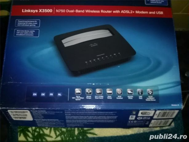 router linksys x3500