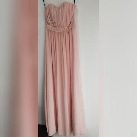 Rochie roz pal lunga
