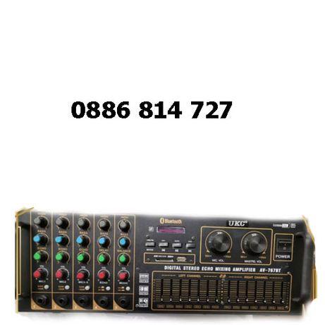 Голям домашен усилвател/стъпало + караоке - аудио усилвател 4000
