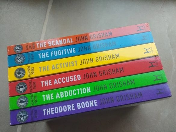Theodore Boone, John Grisham, The 100 Kass Morgan