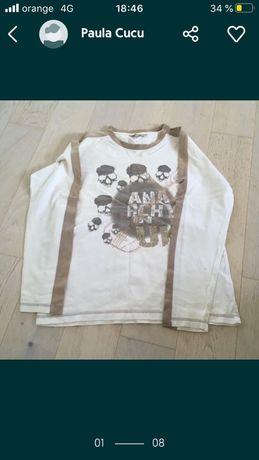tricou barbatesc, bumbac, maneca lunga, disponibil in 5 variante
