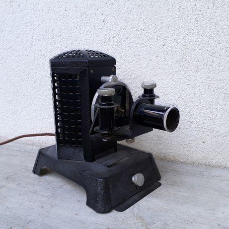 Proiector vechi de diafilme si diapozitive aparat proiectie Filmosto