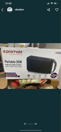 Superoferta! Boxa portabila wireless bluetooth 20w