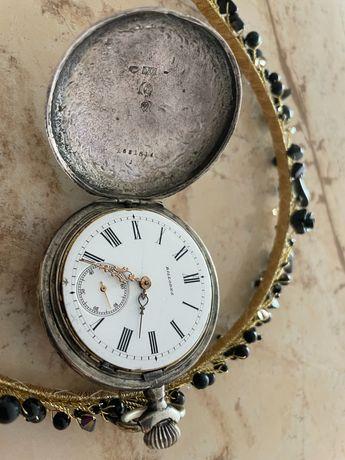 Сребърен джобен часовник Billodes/Zenith работещ перфектно 150+ години