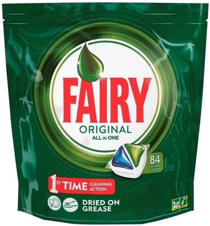 Fairy 84 таблетки за съдомиялна машина на Супер цена от 21 лева