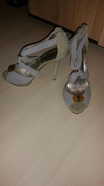 Sandale ocazie gri 37