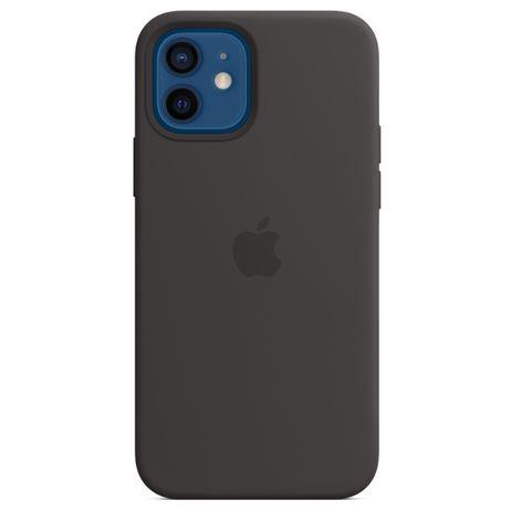 Силиконов Кейс с лого за iPhone 12/Mini/Pro/Max/11/XR/XS/Max/SE/7/8