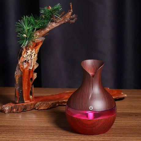 Ултразвуков Дифузер/Овлажнител/Йонизатор за въздух с ароматерапия