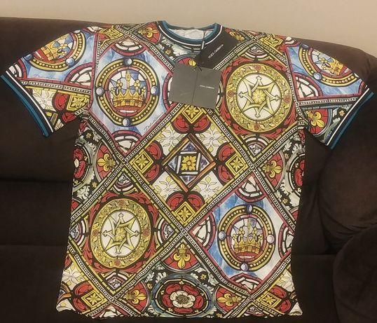 Уникална мъжка тениска Dolce & Gabbana