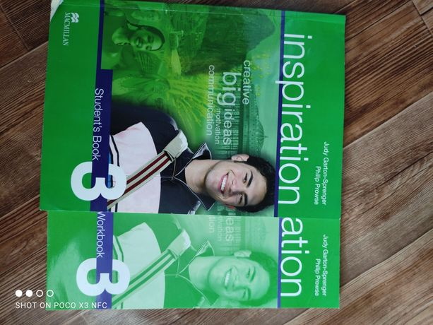 Учебник английского языка Макмиллан с рабочей тетрадью.
