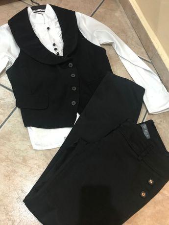Риза, панталон, сако и елек