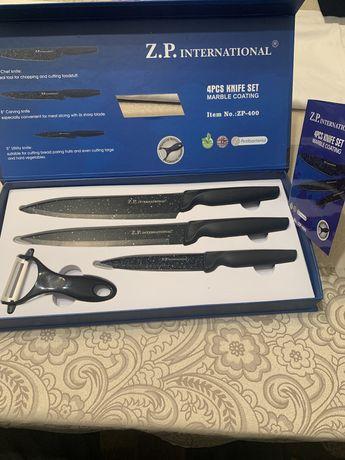 Z. P. International ножове комплект с мраморно покритие