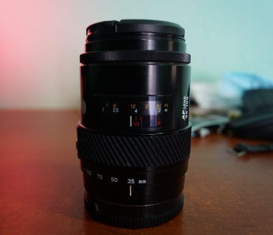 Minolta 35-105mm F3.5-4.5 Beercan