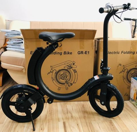 Bicicleta electrica pliabila 14 inch, motor 350W, NOU