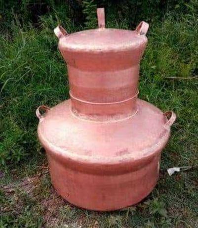 Vand cazan de 150 de litri sunati pentru alte marimi  Cazanul este fac
