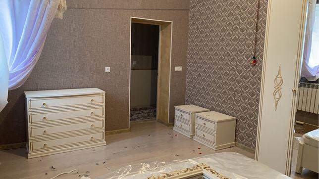 Шкаф, комод, диван+матрас, тумбочки