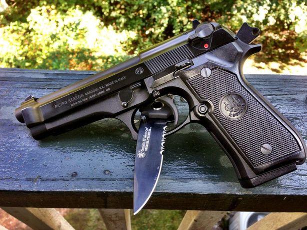 CEL MAI TARE PISTOL-Modificat AIRSOFT Full Metal Beretta/Taurus 4.5J