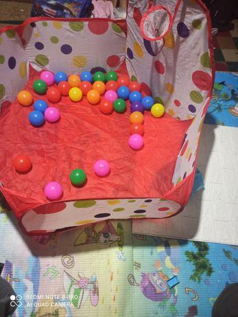 Для развлечения детей бассейн с шариками 50