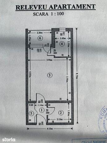 NORD garsoniera cf1 , sd, et.4/4 , libera la 25500 euro