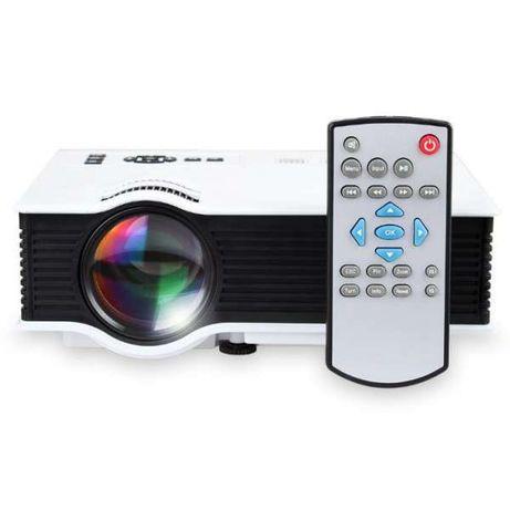LED Проектор,UC40 800 Lumena Мултимедия, Домашно Кино