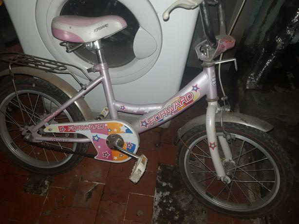 Велосипед розовый для девушек