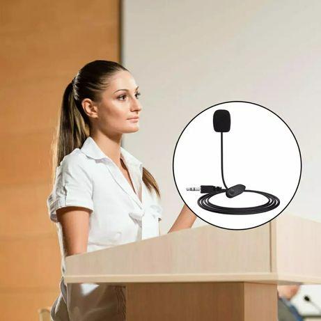 Питличный микрофон (петличка). Длина - 1м. Оптом и в розницу