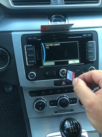 НОВО Sd Card RNS315 2020 AZ V12 RNS310 Оригинална Сд Карта East europe
