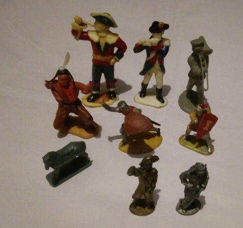 9 бр. Стари СОЦ играчки / Фигурки от яйца Kinder Surprise и други