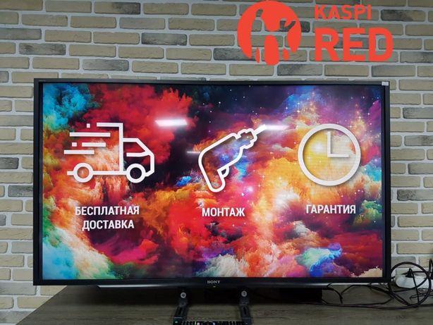 ТВ Smart 122см Sony KDL-48WD653 Рассрочка KASPI RED! Гарантия 1год!