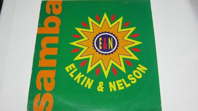 "Disc vinil,Maxi,""Elkin&Nelson-Samba"",remix, 1991."
