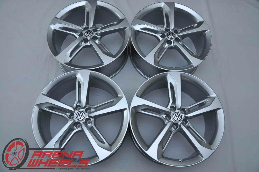 Jante Noi 21 inch Originale VW Touareg 3 CR R21 Blade Bucuresti - imagine 1