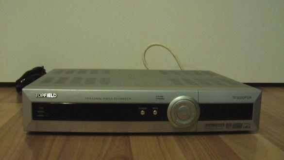 Topfield TF T5000 HD 80 GB HDD: двуканален сателитен ресивер