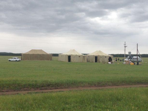 Продам военные палатки размер 7-14 боковые стоики 3 метра балка центр5