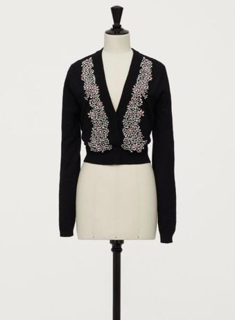 Cardigan-pulover Giambattista Valli x hm, xs