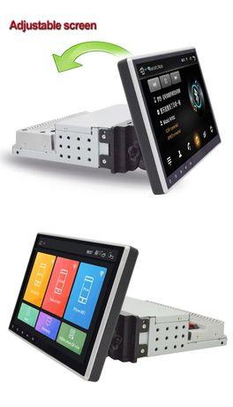 Navigatie 10 inch Android 9.1 Go -1Din Rabatabila Gps WiFi Bluetooth