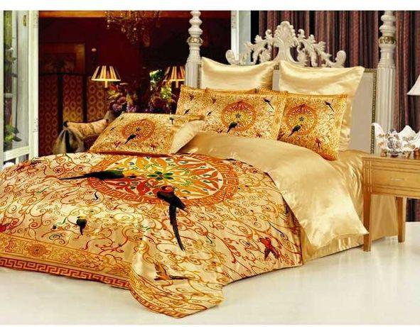Комплект шелкового постельного белья 2 сп