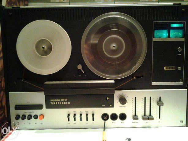 Magnetofon Telefunken M3000 HIFI (1973)